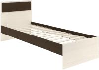 Односпальная кровать АТЛАНТ Next-71 80x200 (бодега темный/сосна карелия) -
