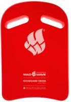 Доска для плавания Mad Wave Cross (красный) -