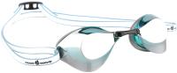 Очки для плавания Mad Wave Turbo Racer II Mirror (зеленый) -