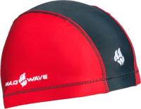 Шапочка для плавания Mad Wave Lycra Doutone (красный) -