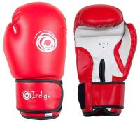 Боксерские перчатки Indigo PS-799 (10oz, красный) -