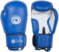 Боксерские перчатки Indigo PS-799 (10oz, синий) -