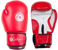 Боксерские перчатки Indigo PS- 799 (6oz ,красный) -