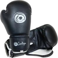 Боксерские перчатки Indigo PU PS-790 (12oz, черный) -