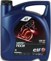 Моторное масло Elf Moto 4 Tech 10W50 / 194957 (4л) -