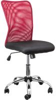 Кресло офисное Седия Artur (красный/черный) -