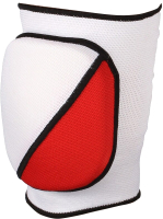 Наколенник защитный Indigo 2009А-TSP (M, белый/красный) -