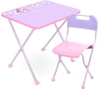 Комплект мебели с детским столом Ника КА2-М/1 Единорог -