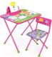 Комплект мебели с детским столом Ника Ф2З Фиксики знайка -
