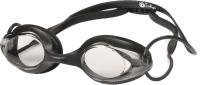 Очки для плавания Indigo 1801 G (черный) -