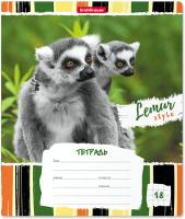 Тетрадь Erich Krause Lemur Style / 49189 (18л, клетка) -
