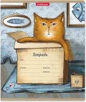 Тетрадь Erich Krause Cat & Box / 49199 (18л, клетка) -