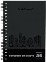 Тетрадь Erich Krause Megapolis / 49808 (80л, клетка) -