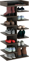 Полка для обуви MFMaster Норта-3 / МСТ-ОДН-03-ВМ-16 (венге) -