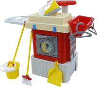 Комплект бытовой техники игрушечный Полесье Infinity basic №3. Стиральная машина / 42293 (в коробке) -