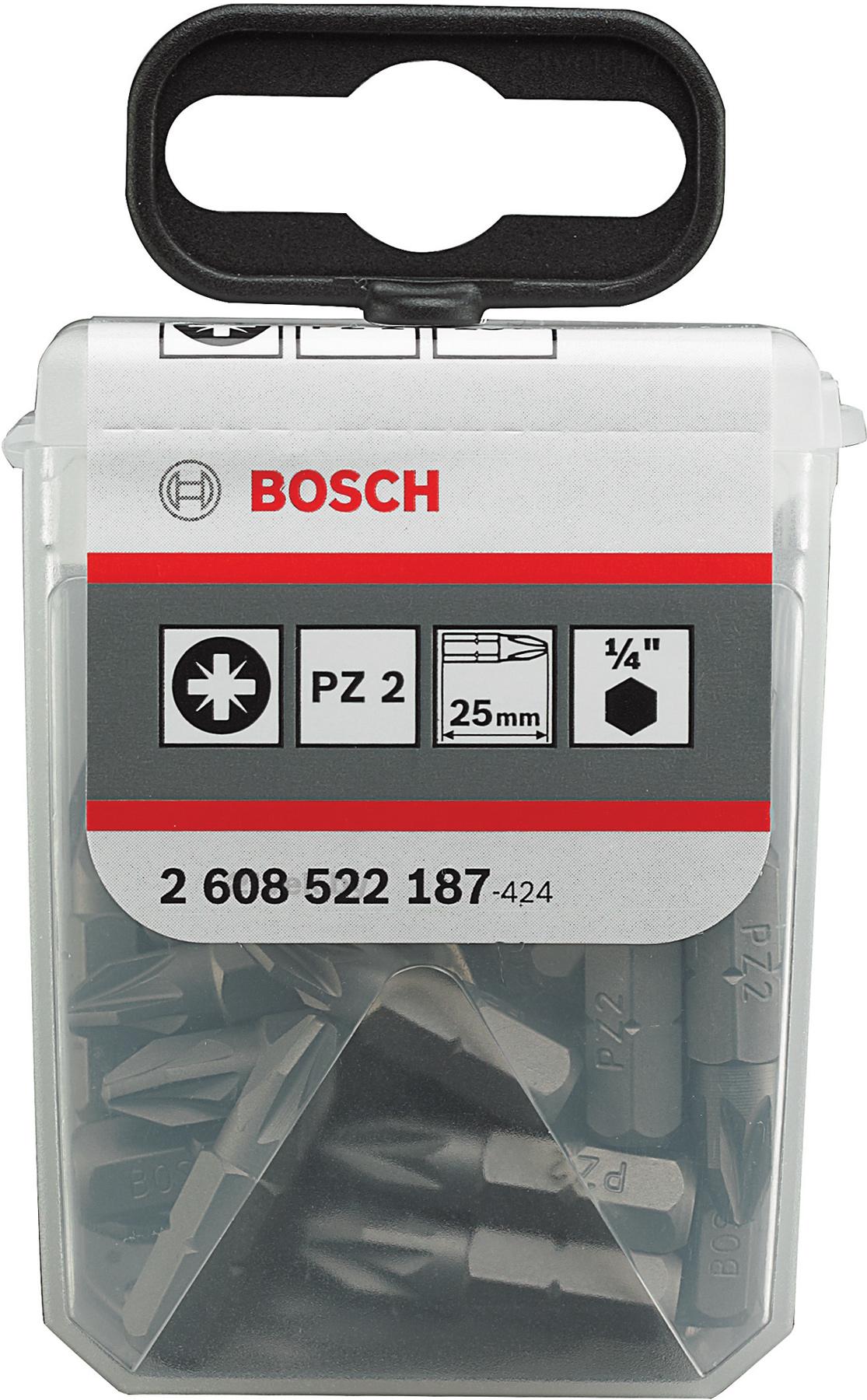 Купить Набор оснастки Bosch, Extra Hard 2.608.522.187 (25 предметов), Китай