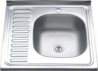 Мойка кухонная Melana MLN-6060 R (0.8) -