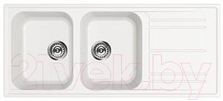 Купить Мойка кухонная Smeg, LZ116B, Италия, искусственный гранит