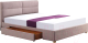 Двуспальная кровать Halmar Merida 160x200 (бежевый) -