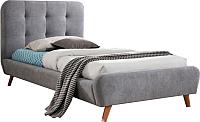 Односпальная кровать Signal Tiffany 90x200 (серый) -