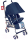 Детская прогулочная коляска Happy Baby Cindy (темно-синий) -
