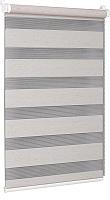Рулонная штора Delfa Сантайм День-Ночь Натур МКД DN-408 (57x160, лён) -