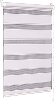 Рулонная штора Delfa Сантайм День-Ночь Стандарт МКД DN-41017 (34x160, белый) -