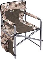 Кресло складное Ника С карманами 1 / КС1 (сафари/хаки) -