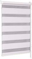 Рулонная штора Delfa Сантайм День-Ночь Стандарт МКД DN-41017 (52x160, белый) -