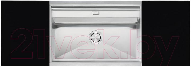 Купить Мойка кухонная Smeg, VQMX79N2, Италия, нержавеющая сталь