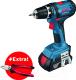 Профессиональная дрель-шуруповерт Bosch GSR 18-2-LI Plus Professional (0.615.990.K2P) -