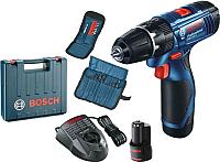 Профессиональная дрель-шуруповерт Bosch GSB 120-LI Professional (0.601.9F3.007) -