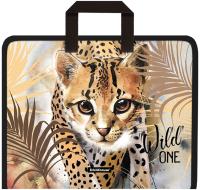 Папка-портфель Erich Krause Wild Cat / 48704 -