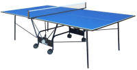 Теннисный стол GSI Sport Compact Light Gk-4 (синий) -