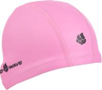 Шапочка для плавания Mad Wave PU Coated (розовый) -