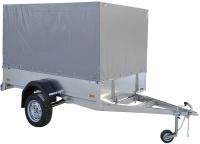 Прицеп для автомобиля ССТ ССТ-7132-6 К прямой (с тентом) -