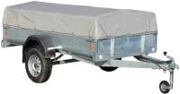Прицеп для автомобиля ССТ ССТ-7132-06 низкий (с тентом) -