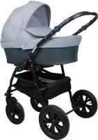 Детская универсальная коляска Smile Line Serenade 20 F 3 в 1 (Se 21, темно-серый/светло-серый) -