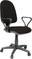 Кресло офисное UTFC Престиж Самба (C24/коричневый/бежевый) -