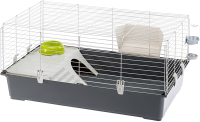 Клетка для грызунов Ferplast Rabbit100 New / 57052370 (темно-серый) -