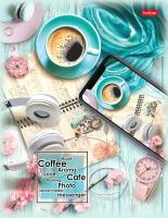 Тетрадь Hatber Время для кофе / 240ТК5В1-23087 -