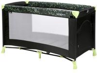 Кровать-манеж Lorelli Verona 2 Black Green Dots / 10080262079 -