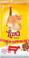 Корм для кошек LARA Adult с говядиной / 441062 (10кг) -
