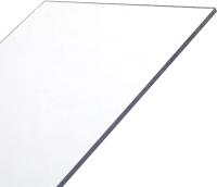 Монолитный поликарбонат Карбогласс Кристалл 2050x3050мм (2мм, прозрачный) -