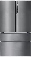 Холодильник с морозильником Haier HB25FSSAAARU -
