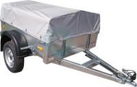Прицеп для автомобиля ССТ ССТ-7132-01 (низкий, с тентом) -