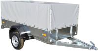 Прицеп для автомобиля ССТ ССТ-7132-02 высокий (с тентом) -