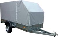 Прицеп для автомобиля ССТ ССТ-7132-09 со скосом (с тентом) -