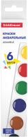Акварельные краски Erich Krause Basic / 51440 (6цв) -