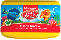 Пластилин Erich Krause ArtBerry с Алоэ Вера со стеком / 41768 (12цв) -